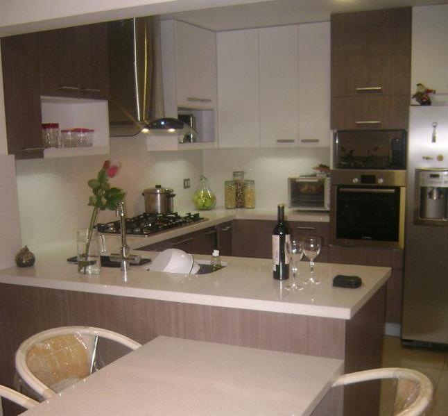 Muebles en melamina a medida para cocina y dormitorio dise o 3d - Diseno cocina 3d ...