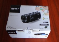 camara de video sony cx290 full hd con 8gb lente angular panorami