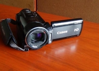 camara de video canon m31 full hd semi profesional tactil con 32g